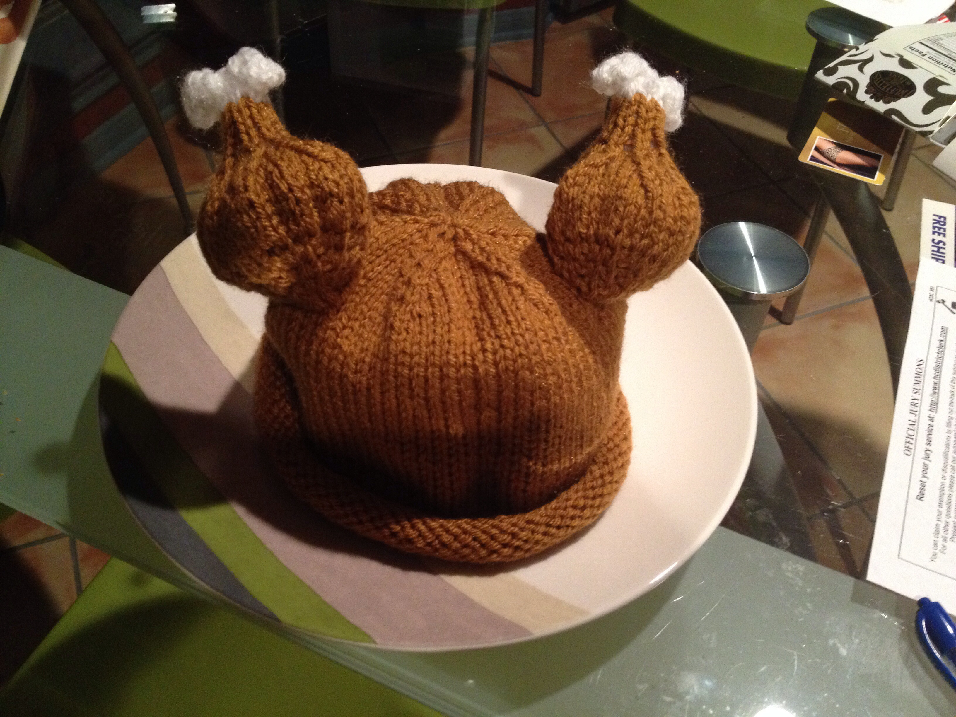 Baby Turkey Hat Engineeredcreations