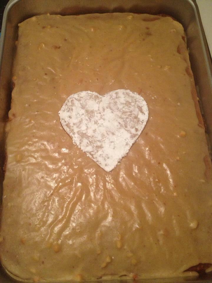 Grandma Sula's Peanut Butter Cake