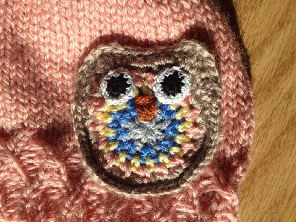 Owl Baby Hat (2/2)