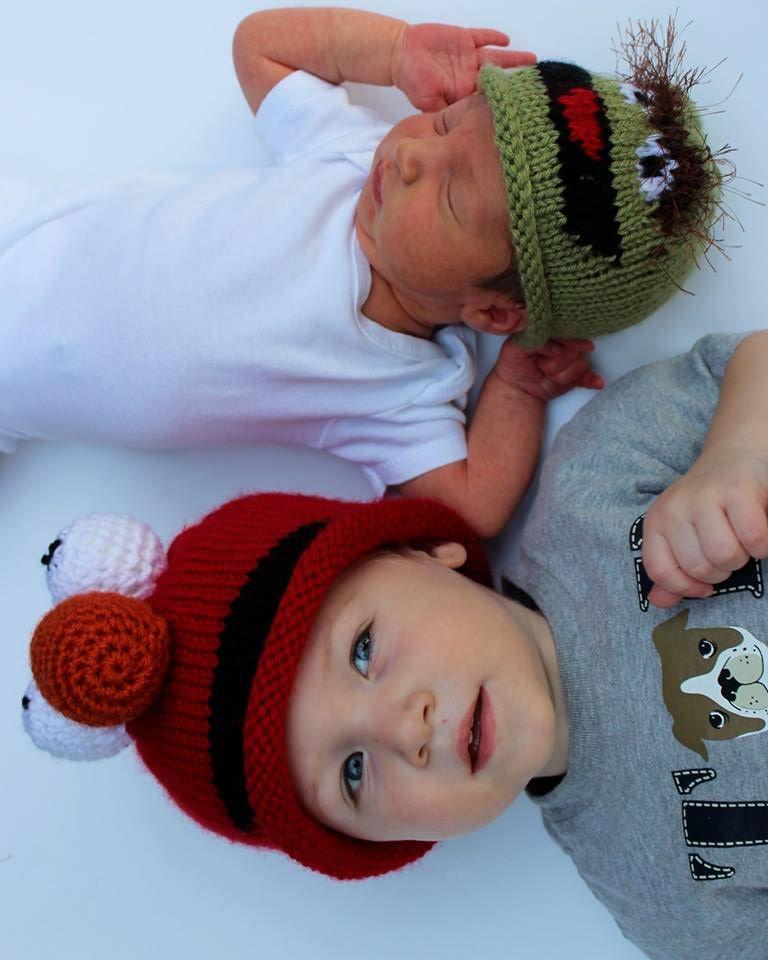 Elmo Inspired Baby Hat Engineeredcreations